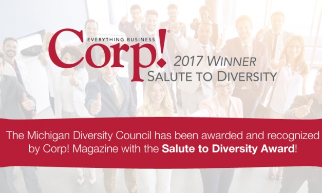 Michigan Diversity Council Named 2017 Salute to Diversity Awardee