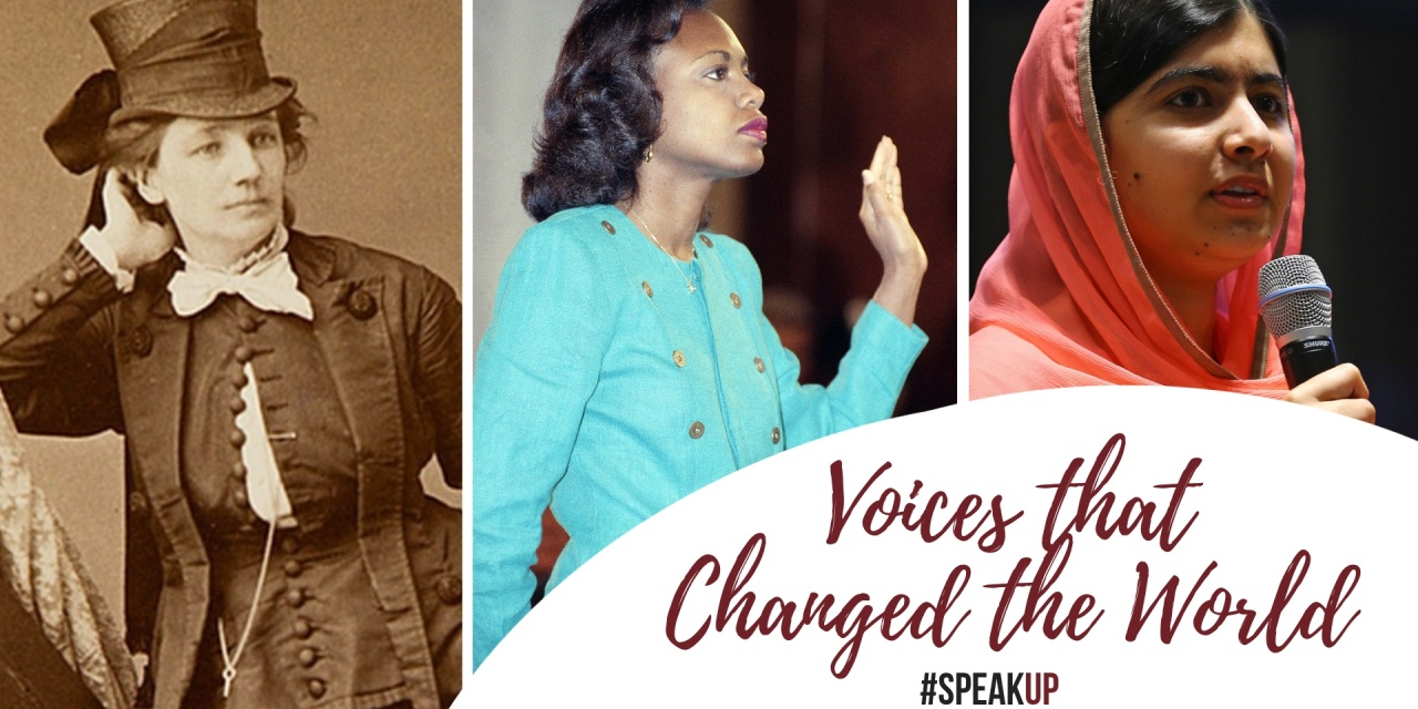 Women Speaking Up: Voices that Changed the World