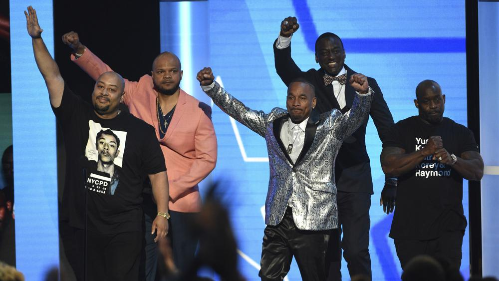 BET Awards Celebrate Central Park Five at the 19th Annual Ceremony